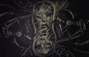 art numerique abstrait dark fantasy dark art numerique : Mechanic human
