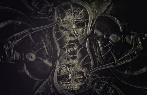 ART NUMéRIQUE dark fantasy dark art numérique Abstrait  - Mechanic human