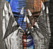 art numerique personnages art numerique art deco digital art mix media : colored and black