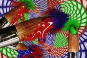 art numerique autres art numerique art deco pinceaux digital art : Graphic Art