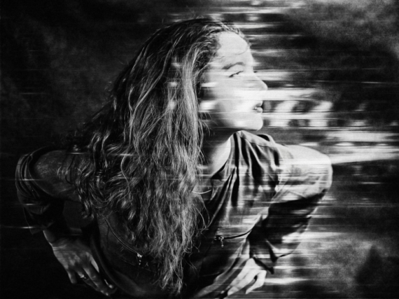 ART NUMéRIQUE art numérique femme digital art peinture numérique Personnages  - Dissolution