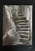 dessin villes : Escalier