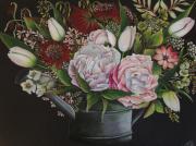 dessin fleurs : Fleurs d'arrosoir