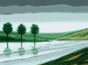 art numerique paysages paysage : paysage 16