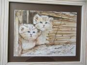 tableau animaux : Lionceaux