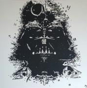 tableau personnages star wars dark vador : Vador