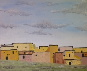 tableau : Village marocain