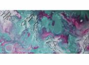 tableau autres art artistes contemporain couleur : Figure de la mer
