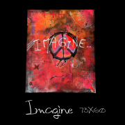 tableau abstrait : Imagine