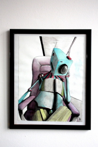 Dessin original - Portrait Robot