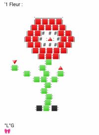 Une Fleur (Rouge)