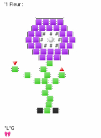 Une Fleur (Violette)
