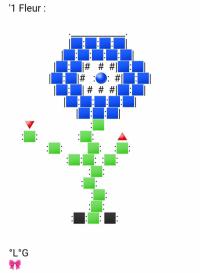 Une Fleur (Bleue)