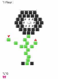 Une Fleur (Noire)
