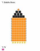 art numerique : Un Stabilo (Orange)