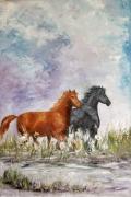 tableau animaux : les chevaux
