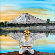 tableau sport arts martiaux judo mont fuji expertise : L'expertise et la partage dans les arts martiaux