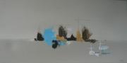 tableau abstrait marine abstraite peinture abstraite peinture au couteau : City