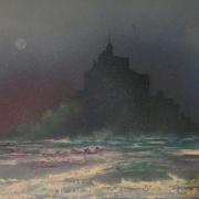 tableau paysages paysage mer : mont st michel