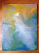 tableau paysages paysage montagne crepuscule : monts au crépuscule
