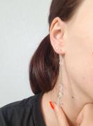 bijoux boucles doreilles bijoux argente : Boucles d'oreilles gouttes