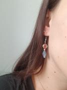 bijoux bijoux boucles doreilles rouge bleu : Boucles d'oreilles bleues et rouges