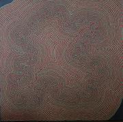 tableau abstrait pointillisme : Corps Glorieux