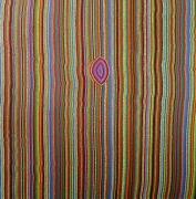 tableau abstrait pointillisme : Accords de Musette