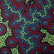 tableau abstrait pointillisme : Assukodé