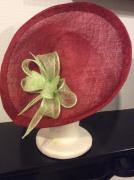 art textile mode autres sisal ceremonie accessoire femme : roue et vert
