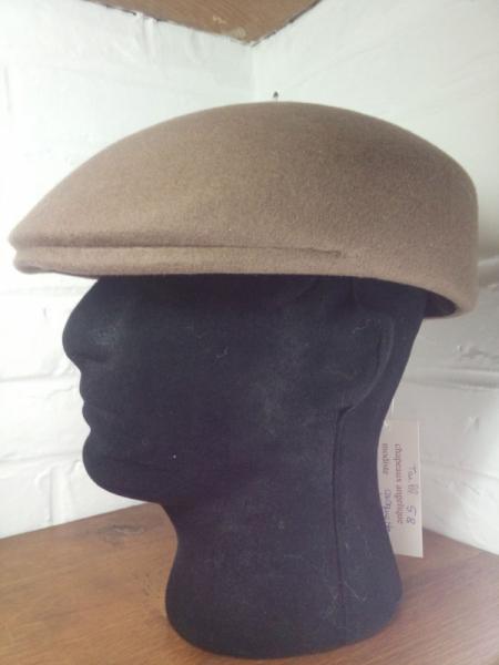 ART TEXTILE, MODE feutre homme chapeau;hiver Villes  - casquette moulée
