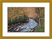 tableau : Rivière d'automne