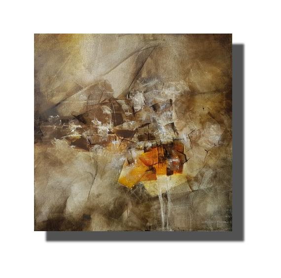 TABLEAU PEINTURE Oeuvre unique Tableau abstrait Tableau peint à la main Rachel Masnaghetti Abstrait Acrylique  - 23.02.2021
