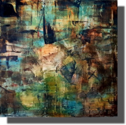 tableau abstrait peinture abstrait moderne deco : 17.09.2020