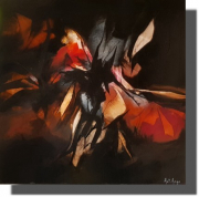tableau abstrait peinture abstrait moderne deco : 02.08.2020