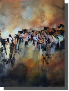 tableau abstrait oeuvre unique tableau abstrait tableau peint ,a la main rachel masnaghetti : 08.10.2020