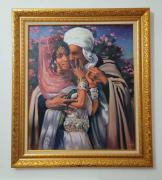 tableau autres : esclave d'amour et lumière des yeux 1895