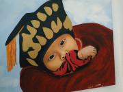 tableau : bébé tibétain