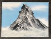 tableau paysages matterhorn cervin swiss mountains zermatt : Matterhorn