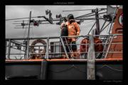 photo marine snsm portsall finistere : carénage de la portsallaise 03