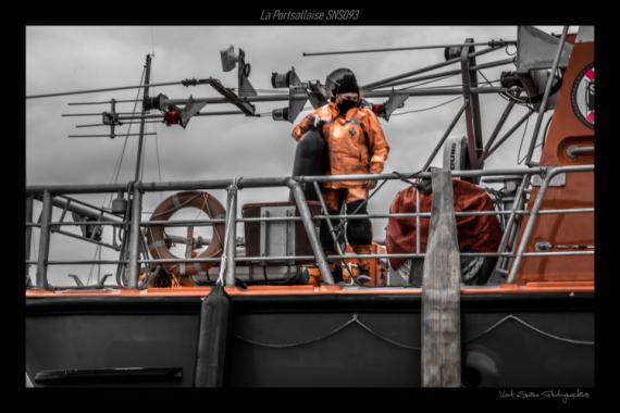 PHOTO snsm portsall Finistère Marine  - carénage de la portsallaise 03