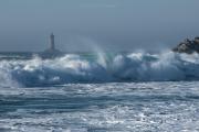 photo marine phare du four porspoder mer iroise : le phare du four 01