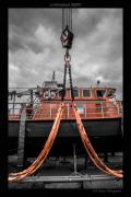 photo marine snsm portsallaise portsall mer : carénage de la portsallaise 01
