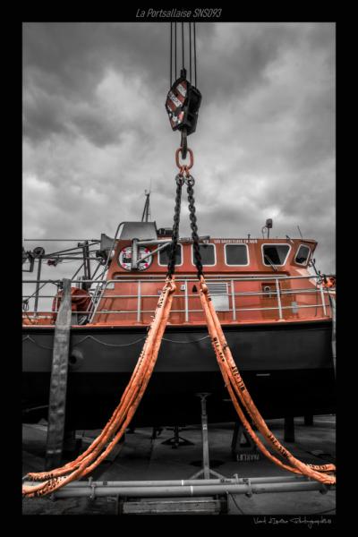 PHOTO snsm portsallaise portsall mer Marine  - carénage de la portsallaise 01