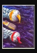 tableau nature morte tubes peinture pinceau : Deux tubes et un pinceau