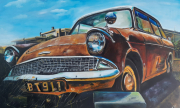 tableau autres voiture ford : La Ford Anglia