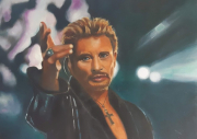 tableau personnages : Johnny Hallyday