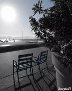 photo paysages : La Croisette confinée