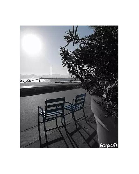 PHOTO Paysages  - La Croisette confinée