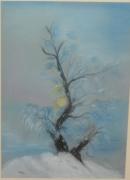 tableau paysages : matin d'hiver
